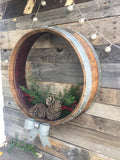 HOLIDAY - Vairaa - Wine Barrel Wreath or Door Hanger