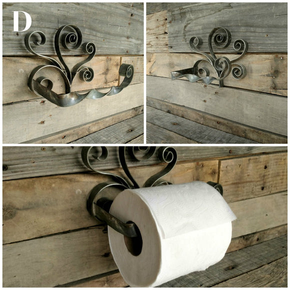 ORGANIZATION Collection - Contorto - Wine Barrel Ring Toilet Paper Holder