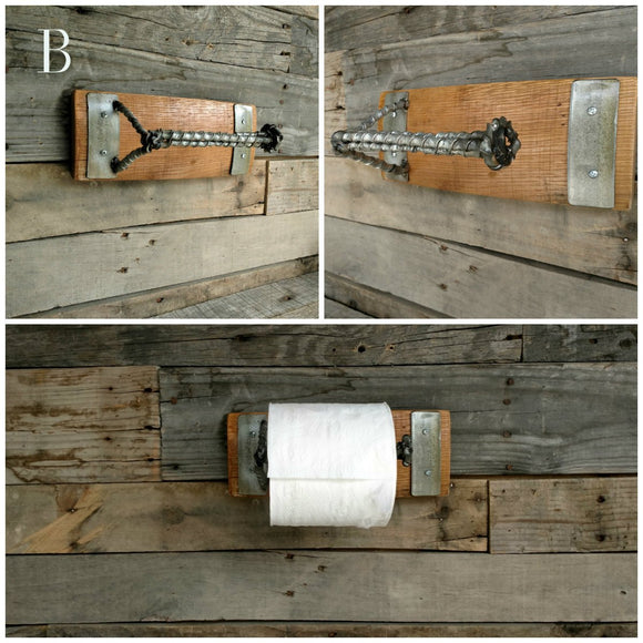 ORGANIZATION Collection - Spirale - Wine Barrel Toilet Paper Holder