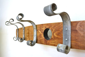 ORGANIZATION Collection - Crux - Wine Barrel Coat Rack