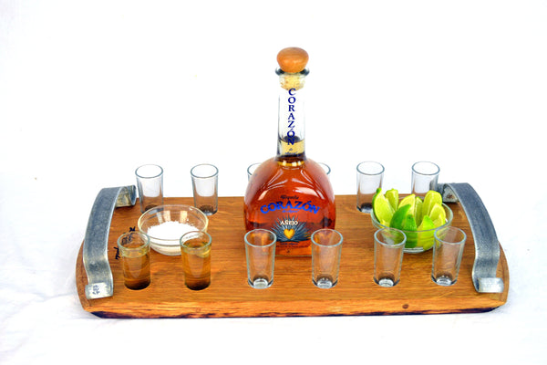 SAMPLER - Zabava - Tequila Flight Serving Sampler Tray