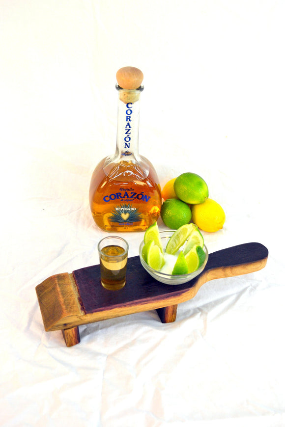 SAMPLER - Miti - Tequila Flight Serving Sampler Tray