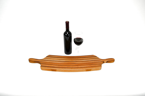 The  Kolu - Wine Barrel Cutting Board - Chopping - Charcuterie Board