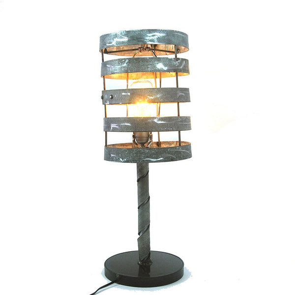 KARTA Collection -Tanti - Wine Barrel Ring Table Or Desk Lamp