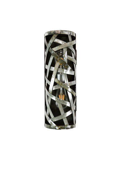 WIVA Collection - Dobar - Wine Barrel Ring Wall Sconce Or Vanity Light