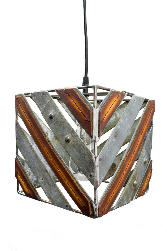 LEATHER & BARREL RING Collection -Rayas - Pendant Light