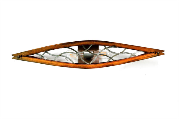 VEDI Collection - Kurvet - Wine Barrel Wall Sconce