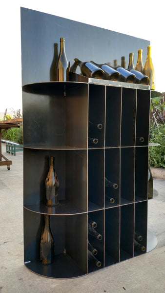 WINE RACK Collection - Keluli - Modern Industrial Wine Rack