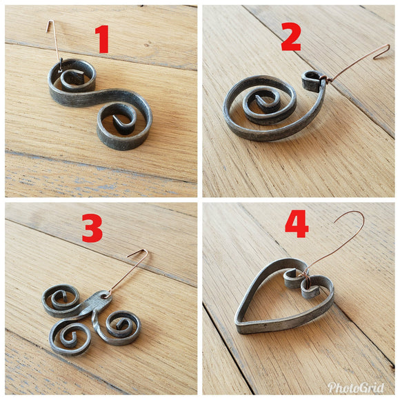 HOLIDAY - Tolu, Pelu, Linja, Cuore - Wine Barrel Ring Ornaments