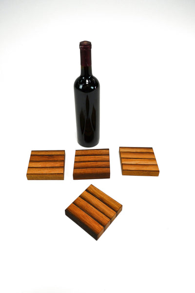 COASTERS - Tabaka -  Wine Barrel Coasters