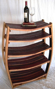 Medici - Wine Barrel Bookcase Large