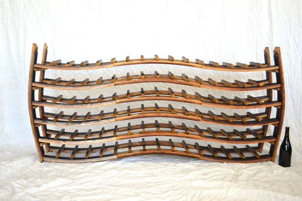WINE RACK Collection - Flow - Triple Wave Wine Rack
