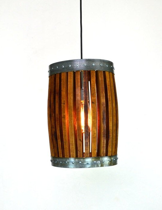 CRAFTSMAN Collection - Nacelle - Wine Barrel Pendant Light