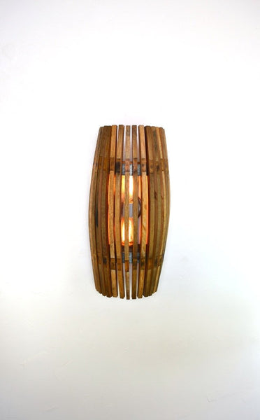 CRAFTSMAN Collection - Nohara - Wine Barrel Wall Sconce