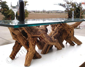 "VINYA Collection -  ""Alionza"" - Old Vine Grapevine Coffee Table"