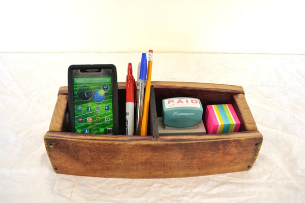 "ORGANIZATION Collection - The ""Aronia - Wine Barrel Phone Charging Station"