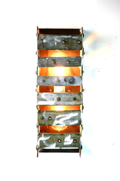 LOFT Collection - Ladder to Heaven - Wine Barrel Ring Wall Sconce