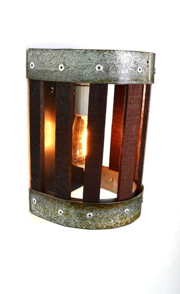 CRAFTSMAN Collection - Carica - Wine Barrel Wall Sconce