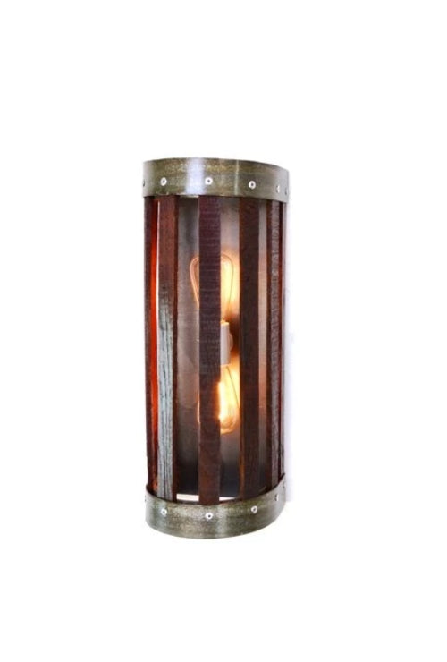 CRAFTSMAN Collection - Madara - Wine Barrel Wall Sconce