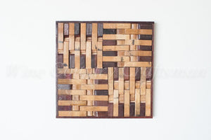 BARREL ART Collection - 4 Square - Wine Barrel Art Piece
