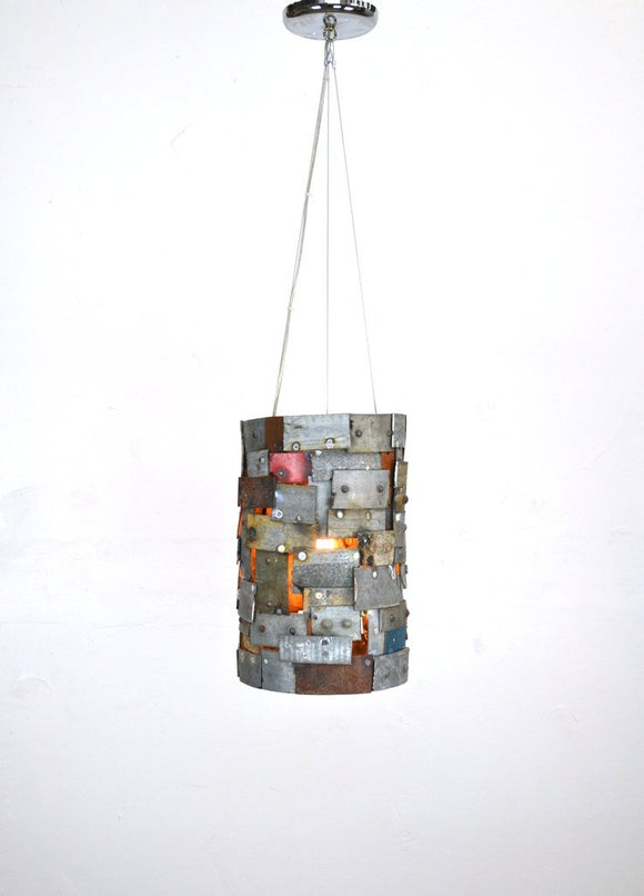 STUDIO Collection - Reliquary - Wine Barrel Ring Pendant Light