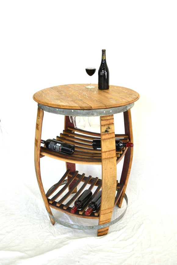 NAPA Collection  - Ravenea - Wine Barrel Bistro Table - Tasting Table