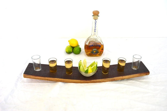 SAMPLER - Caballito - Tequila Flight Serving Sampler Tray