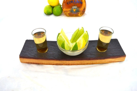 SAMPLER - Agave Sazon - Tequila Flight Serving Sampler Tray