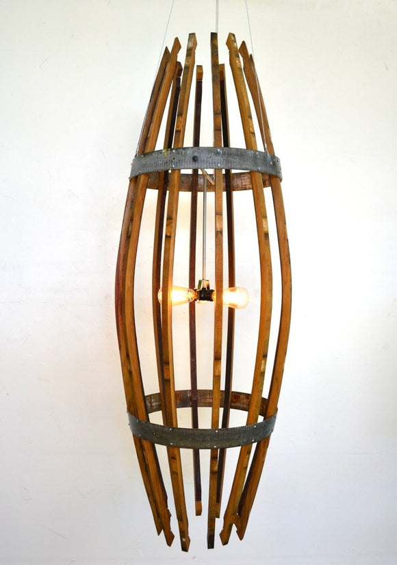 CRAFTSMAN Collection - Teuthida - Wine Barrel XL Catch Chandelier
