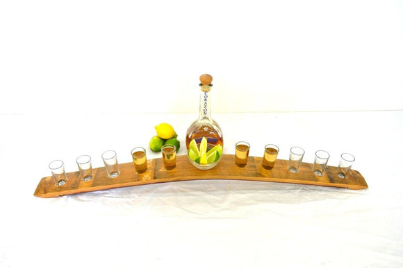 SAMPLER - Katelu - Tequila Flight Serving Sampler Tray