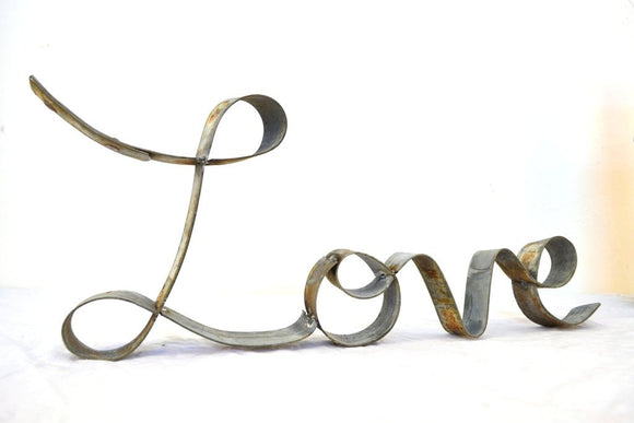 RING ART Collection - Love Cursive