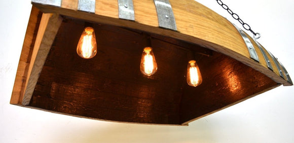 BARREL Collection - Kayu - Wine Barrel Chandelier