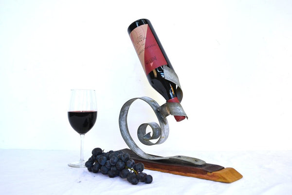 The Floga - Wine Bottle Display