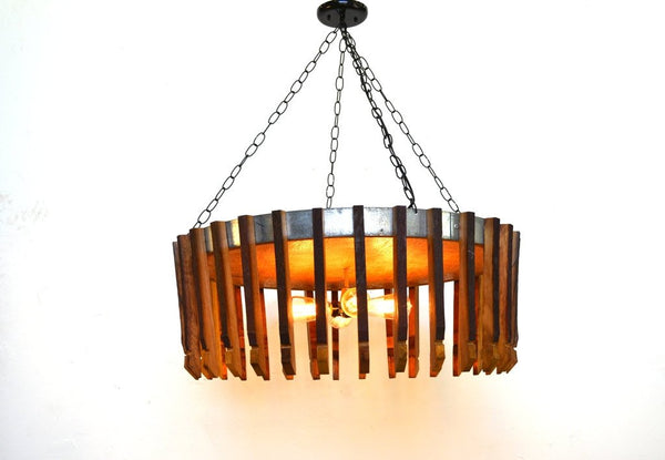 CRAFTSMAN Collection  - Hujan XL - Wine Barrel Chandelier