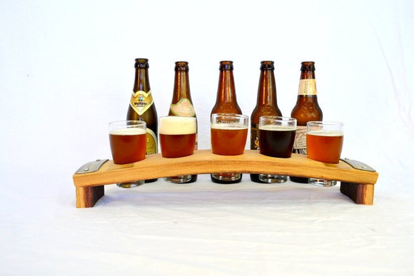 SAMPLER - Saraba - 5 Glass Beer Flight Sampler paddle