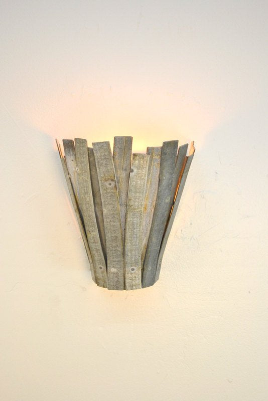 RAVINA - Ifuru - Wine Barrel Ring Wall Sconce Light