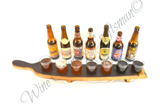 SAMPLER - Sata - 7 Glass Wine Barrel beer flight