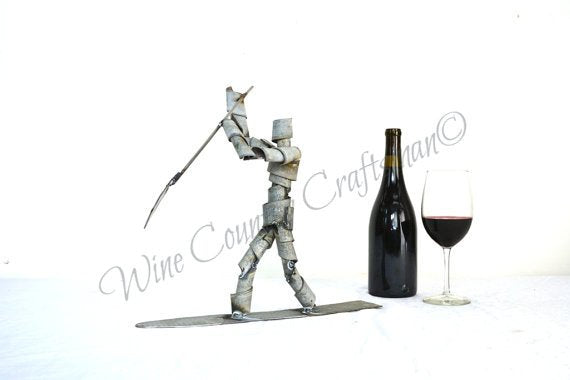 WINE BOT Collection - Surf's Up - Stand Up Paddle Board Wine Bot