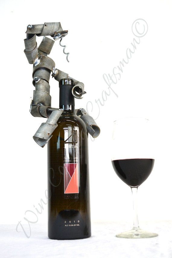 WINE BOT Collection - Haukina - Wine Bot Bottle Stopper