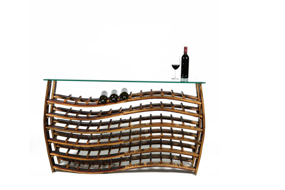 WINE RACK Collection - Antorini - Large Wave Wine Rack