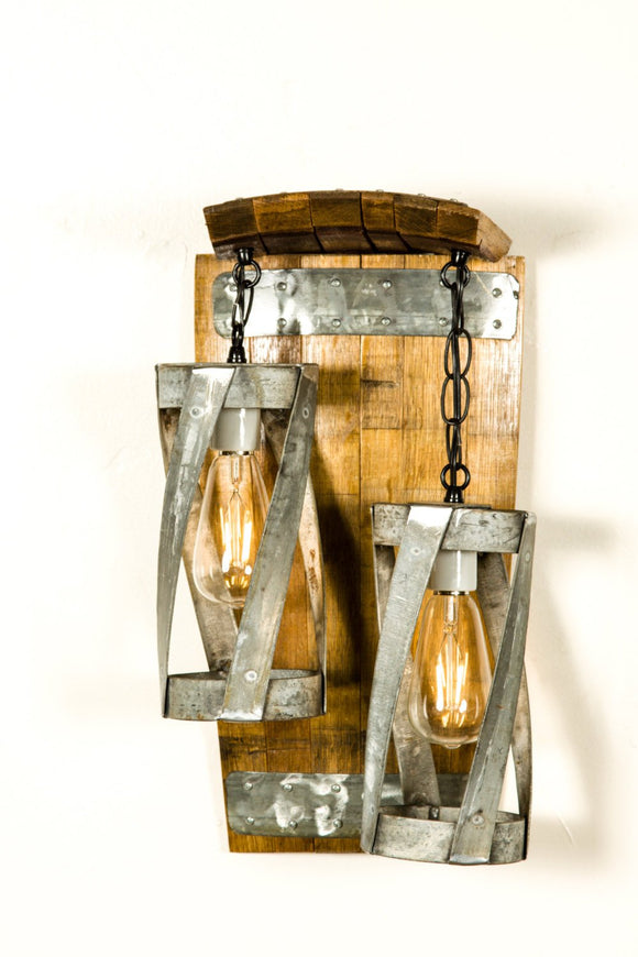 VITALI - Double Vitali - Wine Barrel Wall Sconce