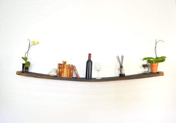 Birta - Giant Wine Tank Floating Shelf
