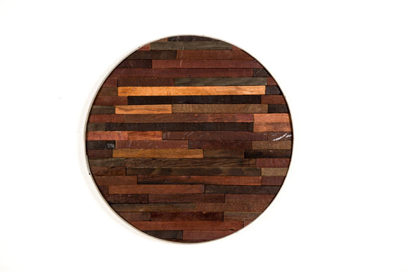 BARREL ART Collection- Further - Wine Barrel Art Piece
