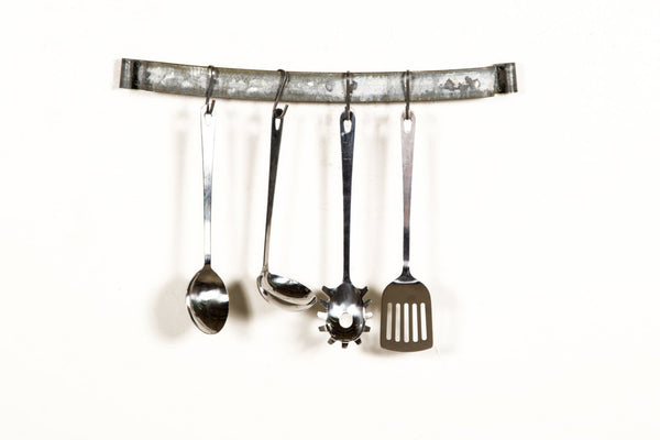 ORGANIZATION Collection - Wine Barrel Ring Utensil Rack