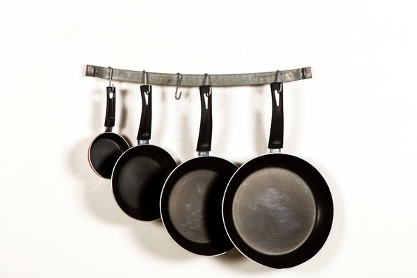 ORGANIZATION Collection - Kitchen - Wine Barrel Ring Pot Rack