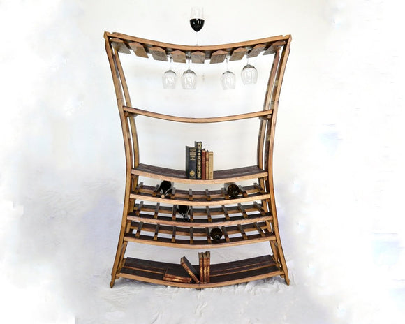 WINE RACK Collection - RHONE - Wine and Glass Rack