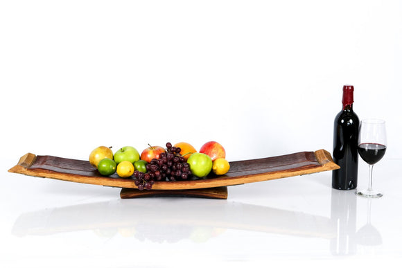 SERVING TRAY - Servindo - Wine Barrel Stave Serving Tray