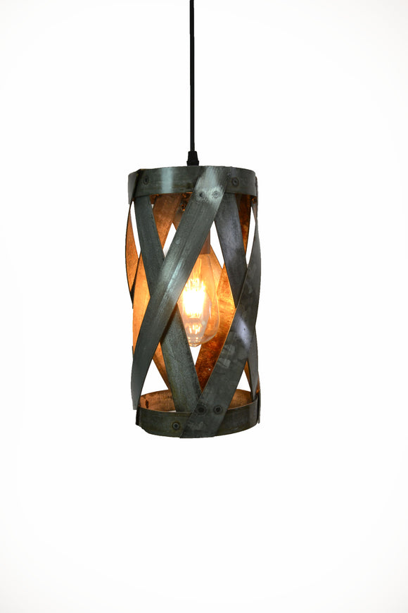 VITALI Collection - Patu - Wine Barrel Ring Pendant Light