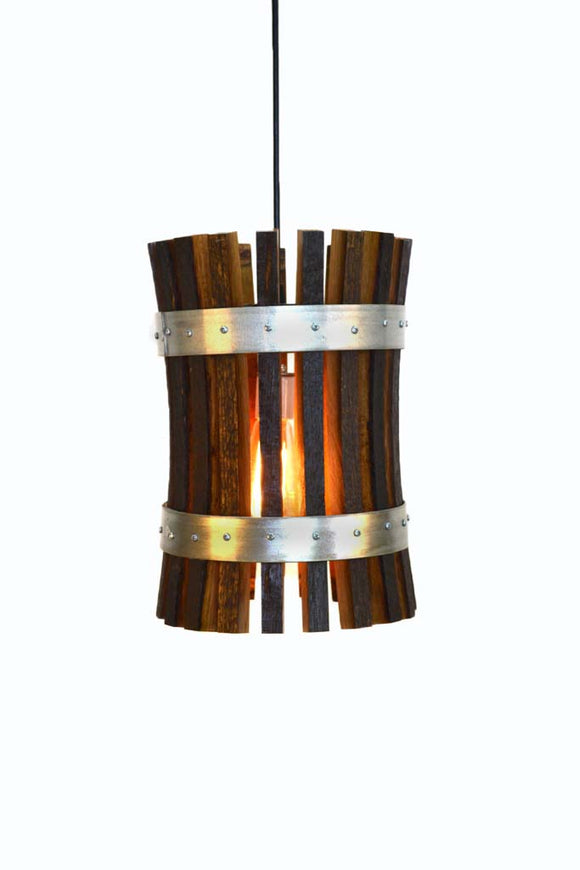 CRAFTSMAN Collection - Pasadena - Wine Barrel Pendant Light