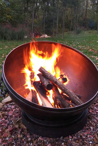 "Big John Fire Pit 40"" With Tilting Base"